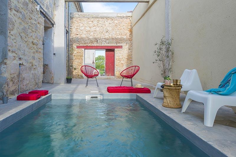 Mas Syrah - patio piscine