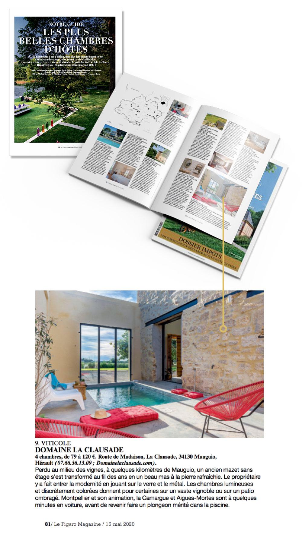Le Figaro Magazine parle de la Clausade