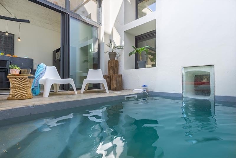 Mas Soreli - piscine patio