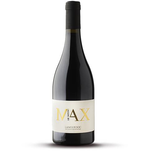 Bouteille de vin rouge AOP Languedoc